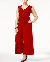 Love Squared Trendy Plus Size Wide-Leg Jumpsuit