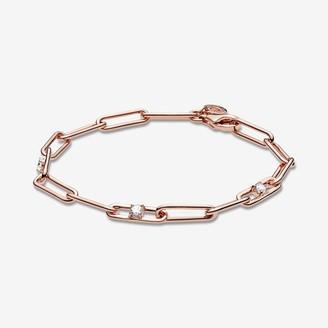 Pandora Link Chain & Stones Bracelet