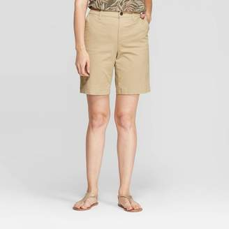 "A New Day Women's 9"" Chino Shorts"