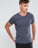 Jack and Jones Longline T-Shirt with Zip