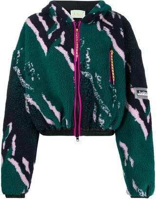 Aries Printed Fleece Jacket