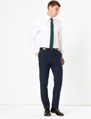 Marks and Spencer The Ultimate Big & Tall Navy Slim Fit Trousers