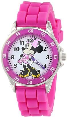 Disney Minnie Mouse Unisex Child Analogue Classic Quartz Watch with Rubber Strap MN1157