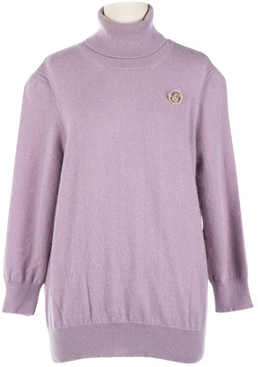 Louis Vuitton Purple Cashmere Knitwear