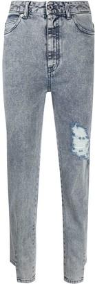 Just Cavalli Rip Detail Jeans