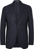 Richard James - Blue Slim-fit Stretch-wool Hopsack Blazer