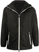 Moncler raglan short parka coat