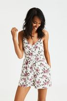 American Eagle Outfitters AE Button Front Romper