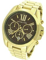 Michael Kors Men's Bradshaw MK5502 Gold Tone Quartz Watch