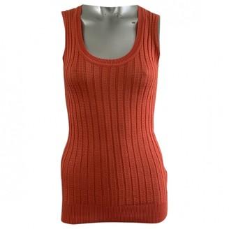 M Missoni Orange Cotton Top for Women