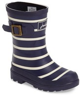 Joules Boy's Stripe Welly Rain Boot