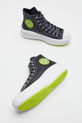 Converse Chuck Taylor All Star Move Faux Leather High Top Sneaker