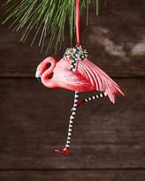 Mackenzie Childs MacKenzie-Childs Wonderland Flamingo Christmas Ornament