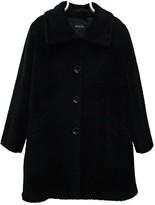 Agnona Black Wool Coat for Women