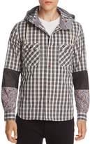 Junya Watanabe Patch-Sleeve Hooded Sweatshirt