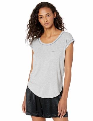 Splendid Women's Crewneck Short Sleeve Pajama Top Pj