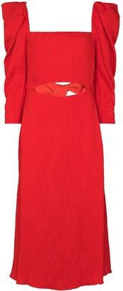 Johanna Ortiz Lady of Heaven flared dress