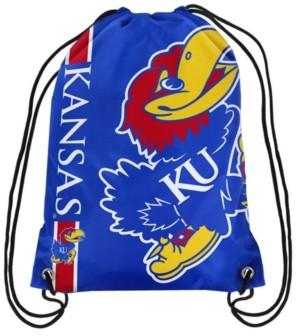 Forever Collectibles Kansas Jayhawks Big Logo Drawstring Bag
