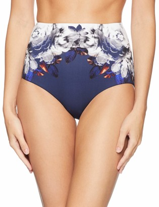 Jets Women's Picturesque High Waisted Bikini Bottom Swimsuit