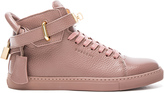 Buscemi 100MM Flat Leather Sneakers