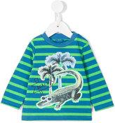 Stella McCartney striped sweatshirt - kids - Cotton/Polyester - 12 mth