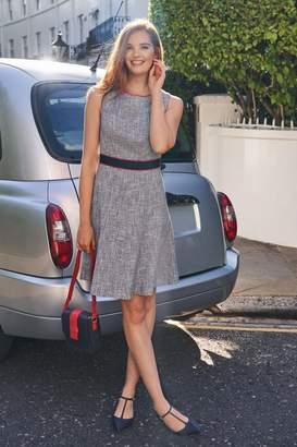 Boden Womens Blue Matilda Textured Dress - Blue
