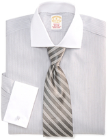 Brooks Brothers Golden Fleece® Madison Fit Framed Stripe French Cuff Dress Shirt