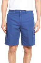 Peter Millar Men's Coastal Linen Blend Cargo Shorts