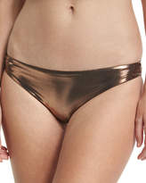 Luxe by Lisa Vogel Premier Metallic Hipster Swim Bottom