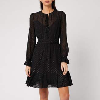 MICHAEL Michael Kors Women's Tassel Pleat Dress