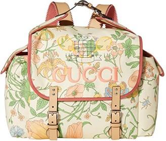 Gucci Kids Backpack 580811H0MAN (Little Kids/Big Kids) (Cream/Black) Backpack Bags