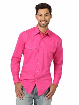 Wrangler Men's Sport Western Long Sleeve Shirt