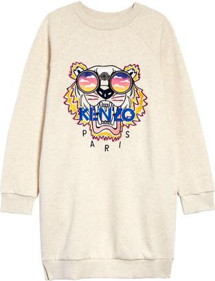 Kenzo Kids' Tiger Sweatshirt Dress