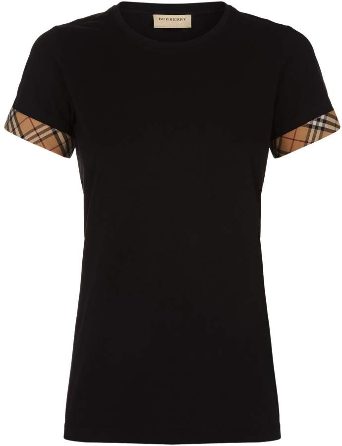 Burberry Check Trim Top