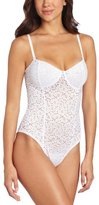 Fashion Forms Women's Eyelet Body Suit