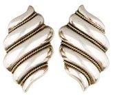 Tiffany & Co. Shell Clip-On Earrings