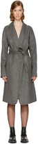 Alexander Wang Grey Ball Chain Robe Coat