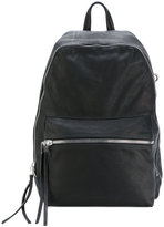 Rick Owens zipped backpack - unisex - Leather - One Size
