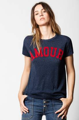 Zadig & Voltaire Walk Amour T-shirt