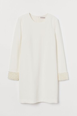 H&M Appliqued dress