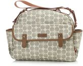 Babymel BabymelTM Molly Diaper Bag in Grey Floral Dot