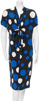 Michael Kors Printed Midi Dress