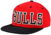 adidas Chicago Bulls Team Jersey Mesh Snapback Cap