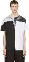 Marcelo Burlon County of Milan Black and White Naldo T-shirt