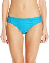 Kenneth Cole Reaction Women's Suns Out Crochet Hipster Bikini Bottom