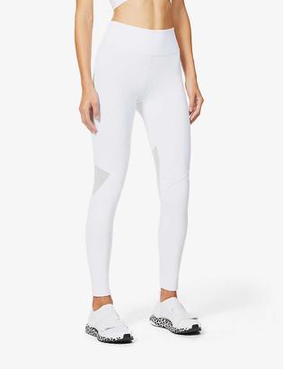 Heroine Sport Apex mesh-insert stretch-jersey leggings