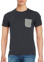 Selected Cotton-Blend Short-Sleeve Tee