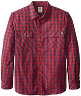 Dickies Men's Long-Sleeve Buffalo Plaid Shirt