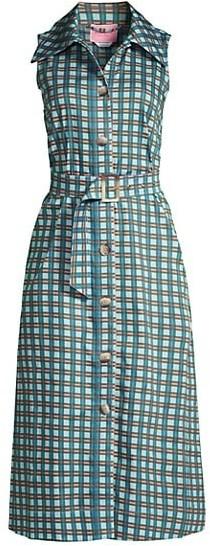 Kate Spade Plaid Poplin Shirtdress