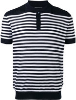 Ermanno Scervino striped polo shirt - men - Cotton - 46